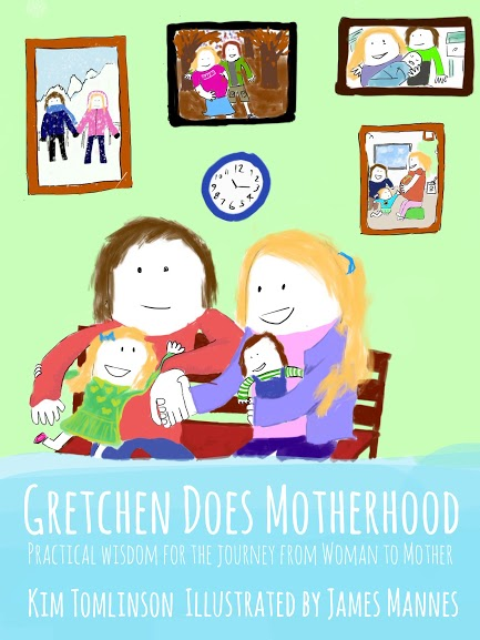 Book Cover: Gretchen Does Motherhood by Kim Tomlinson